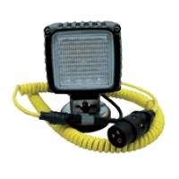 Светодиодные рабочие фары с крепежным уголком, крепежным магнитом, спиральным кабелем и штекером Wirtgen # 2277536