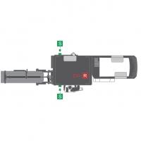 Кабель для датчика CAN (7-пол.) Wirtgen #2096045