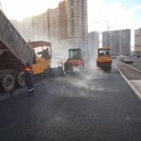 Строительство городских дорог