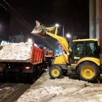 Вывоз снега с погрузкой