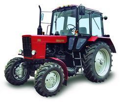 трактор мтз 82 со щеткой