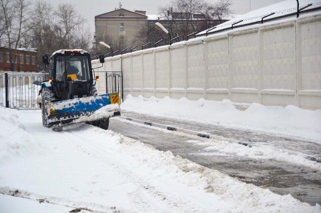 Вывоз снега в Москве с погрузкой