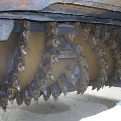 дорожные резцы со стандартным твердым сплавом.