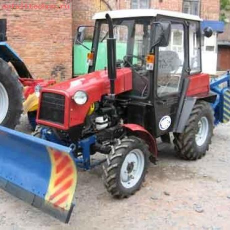 Заказать трактор для уборки снега новосибирск