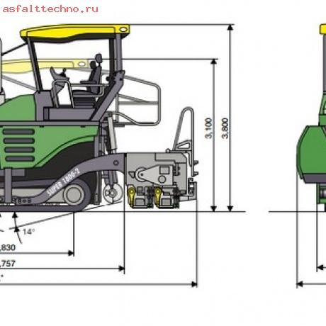 Аренда асфальтоукладчика Vogele S1800-2
