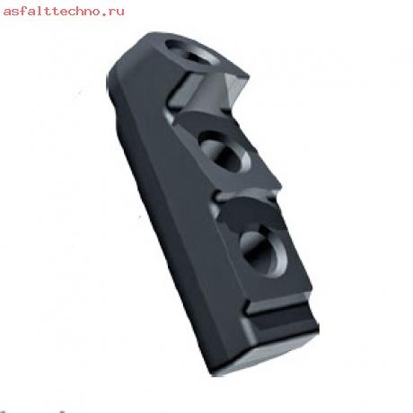 Защита кромки для 3 резцов с круглым стержнем Wirtgen # 69902