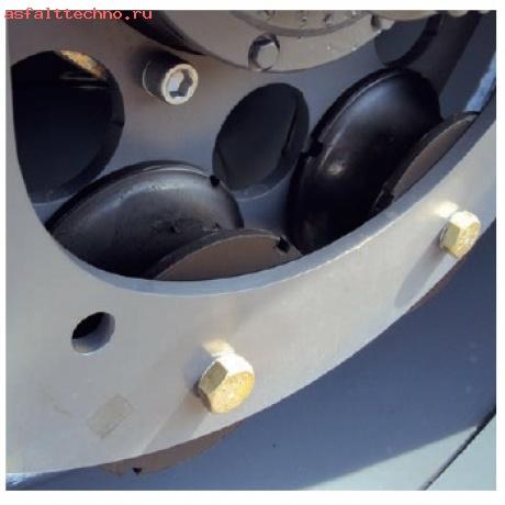 Резиновые амортизаторы бандажа HAMM # 2029281
