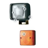 Габаритное стояночное освещение, справа HAMM # 2060713