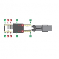 Удлинительный кабель для датчиков (7-пол.) Wirtgen #2102128