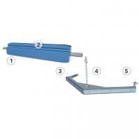 Клиновая защитная накладка Kleemann # F20002398