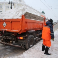 Вывоз снега с погрузкой цена
